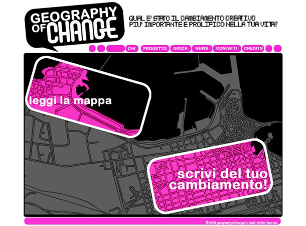 Geography of change